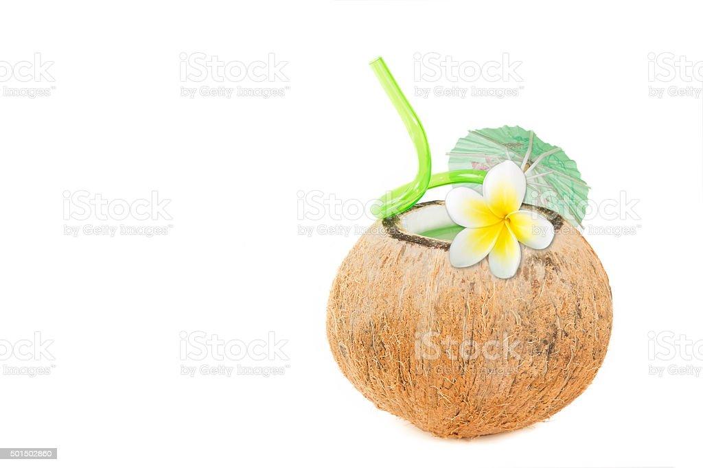 Tropischer Coconut Erfrischung Lizenzfreies stock-foto