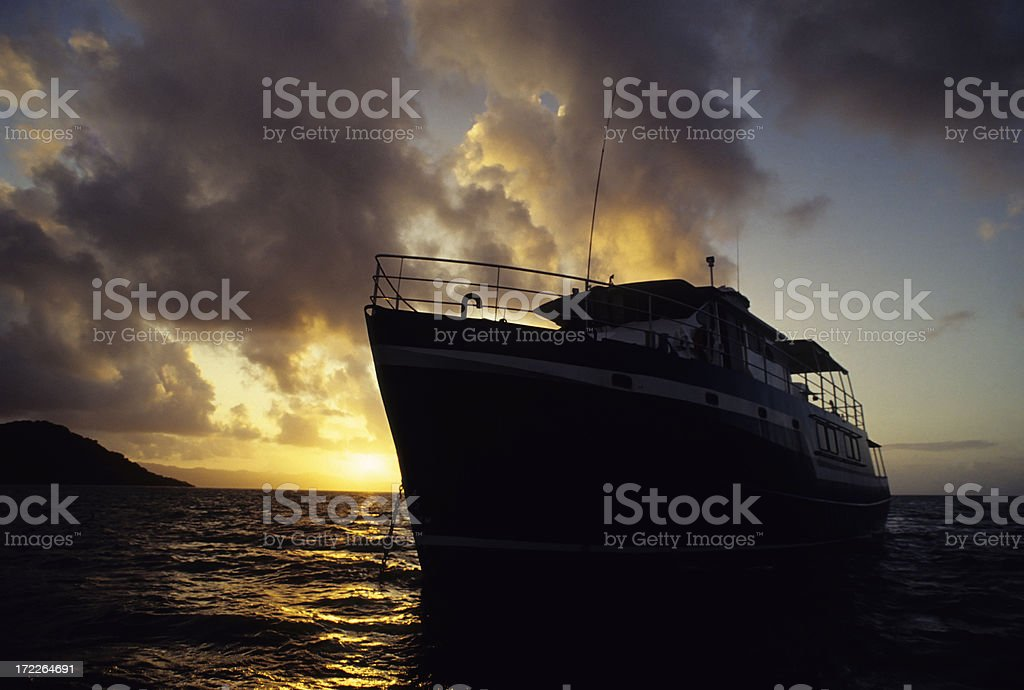 Tropical Cruise royalty-free stock photo