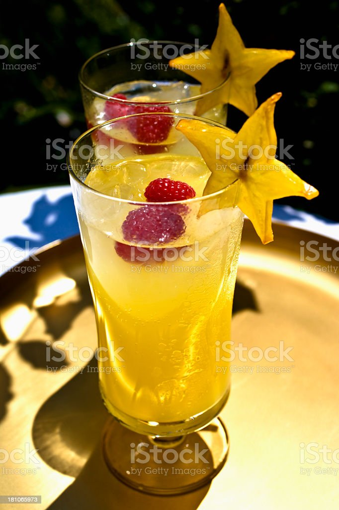 Tropical drink royalty-free stock photo