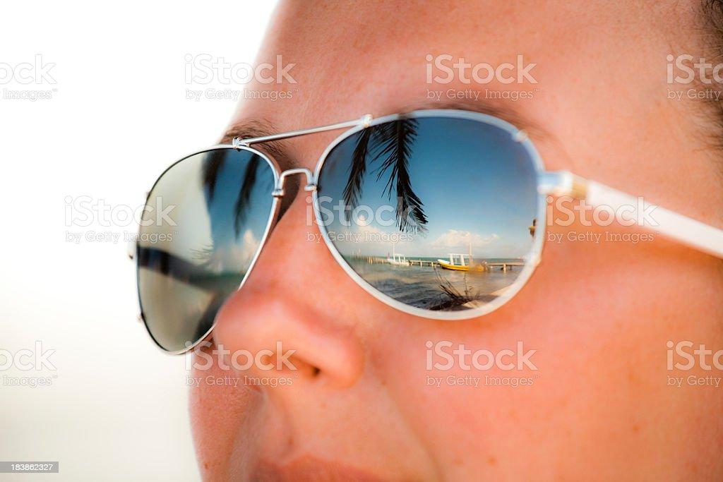 Tropical eyes royalty-free stock photo