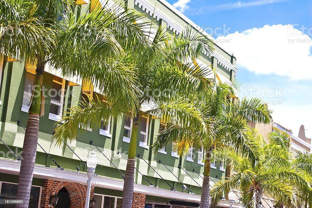 Tropical Facade royalty-free stock photo