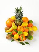 tropical fruit assortment