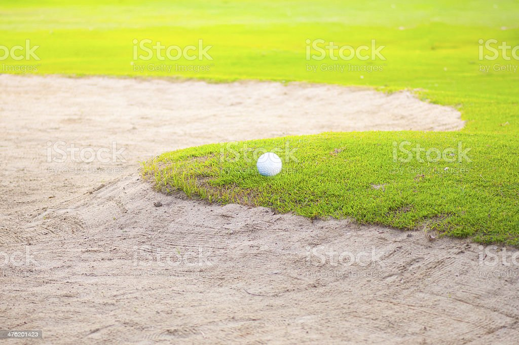 Tropical Golf course royalty-free stock photo