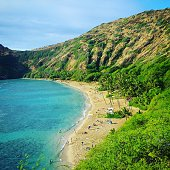 Tropical Hawaii Travel Destinations Hanauma Bay Oahu Island