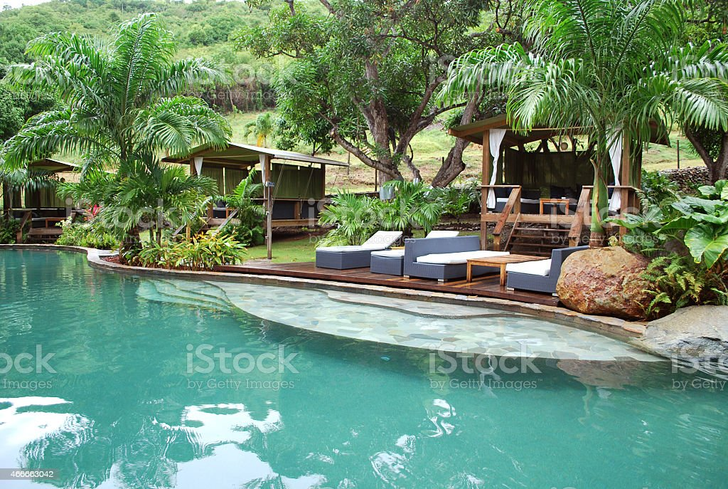 Tropical Health Spa. stock photo