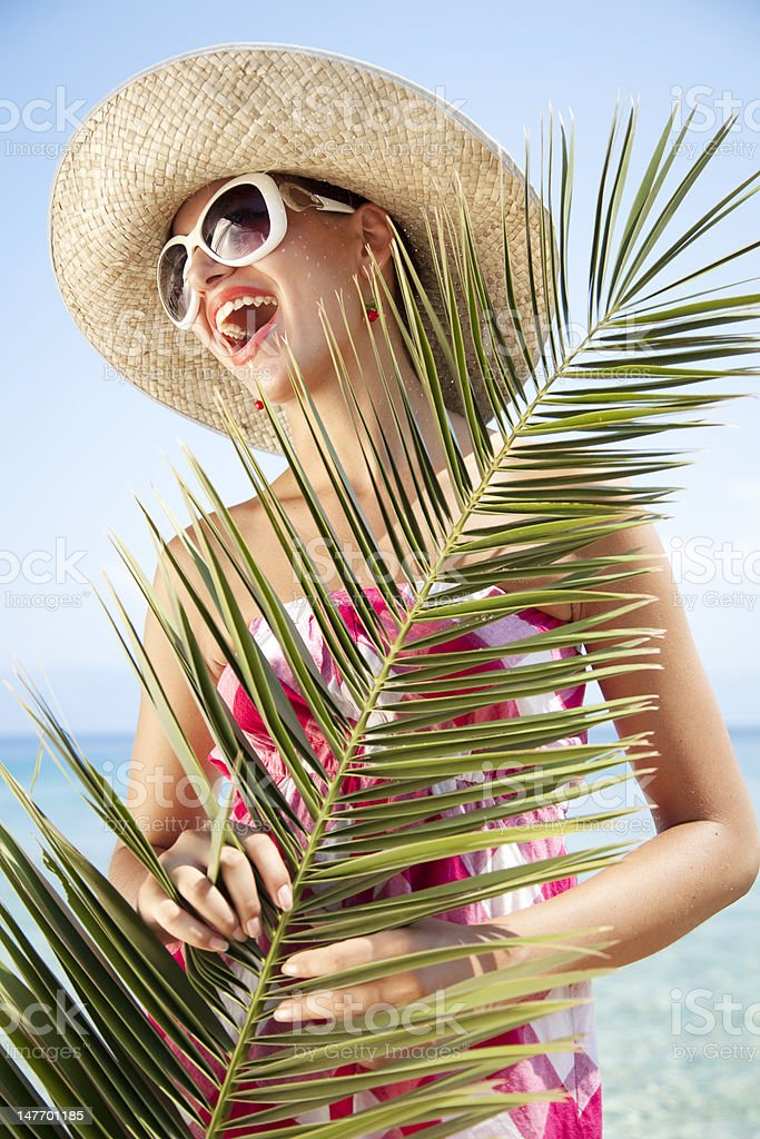 tropical holiday stock photo