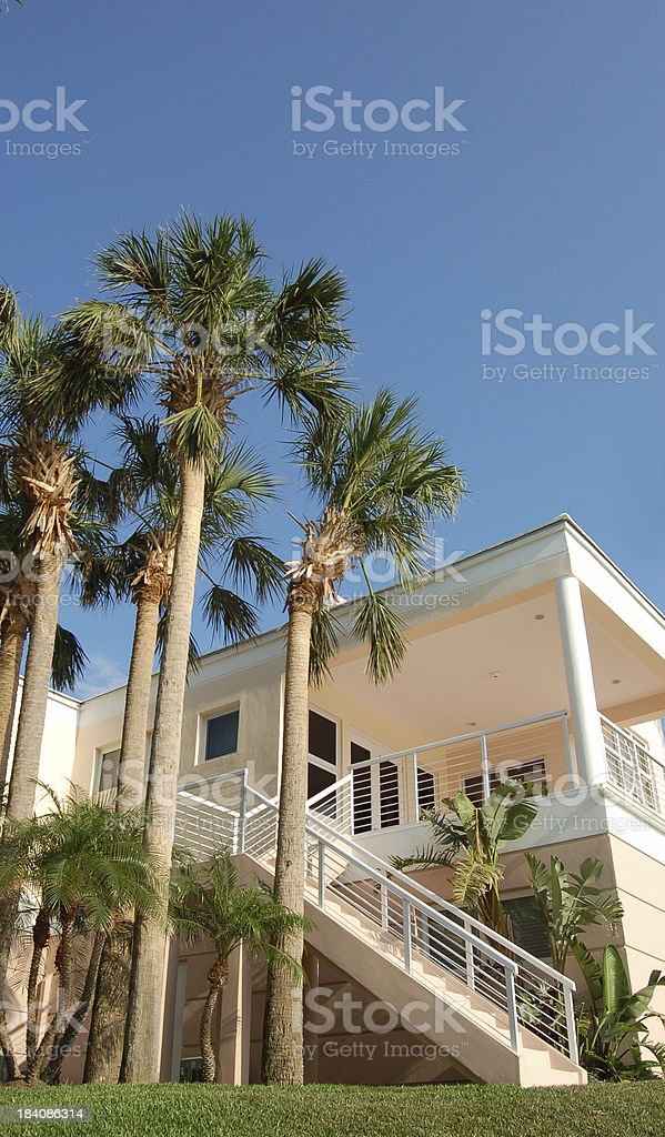 Tropical Home1 royalty-free stock photo