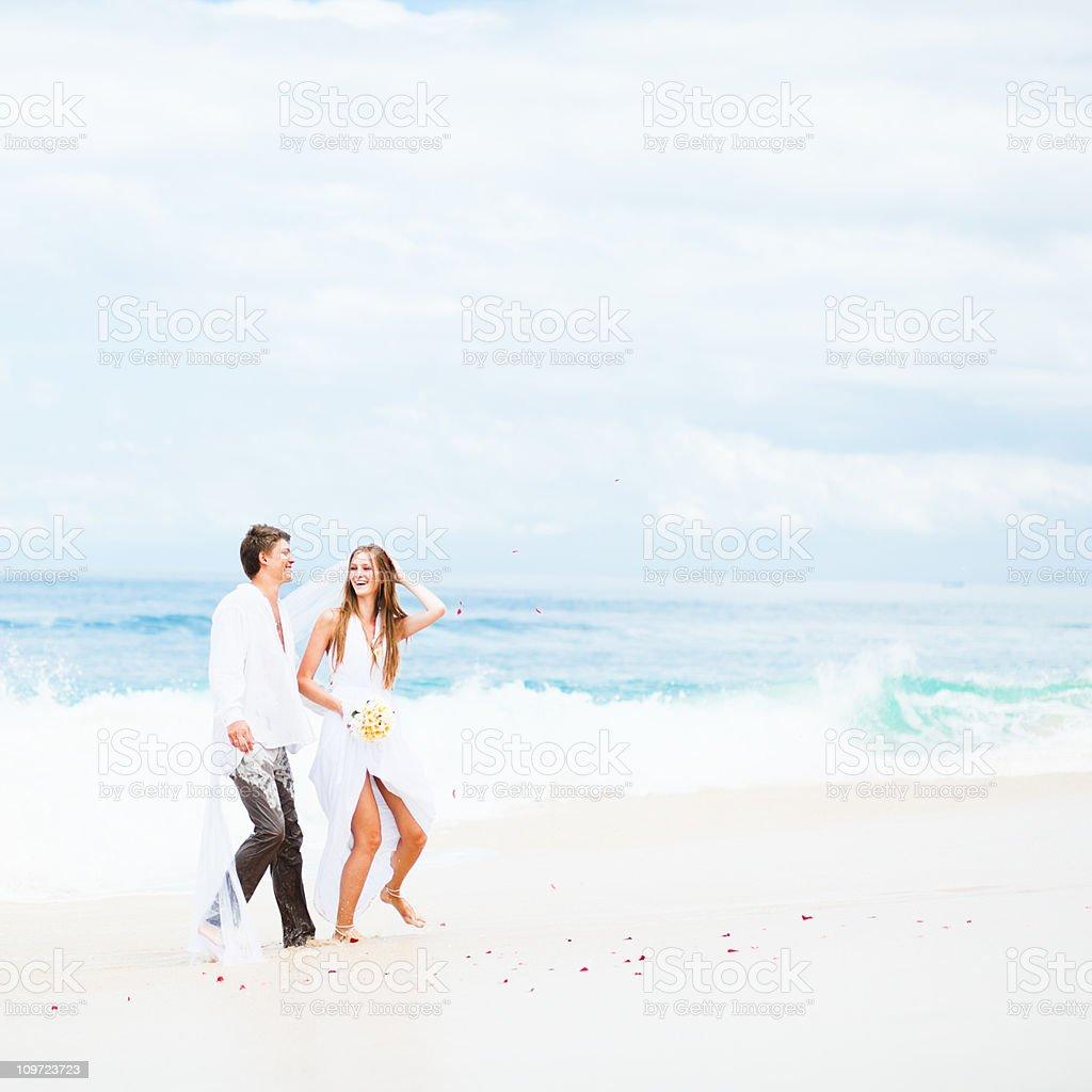 tropical honeymoon stock photo