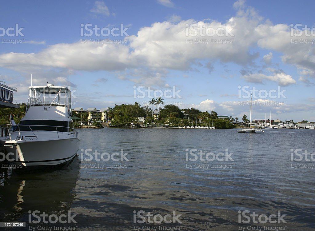 Tropical Inner Bay stock photo