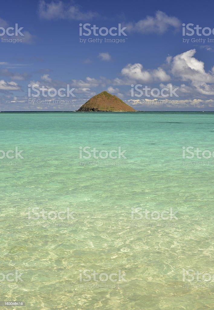 Tropical island royalty-free stock photo