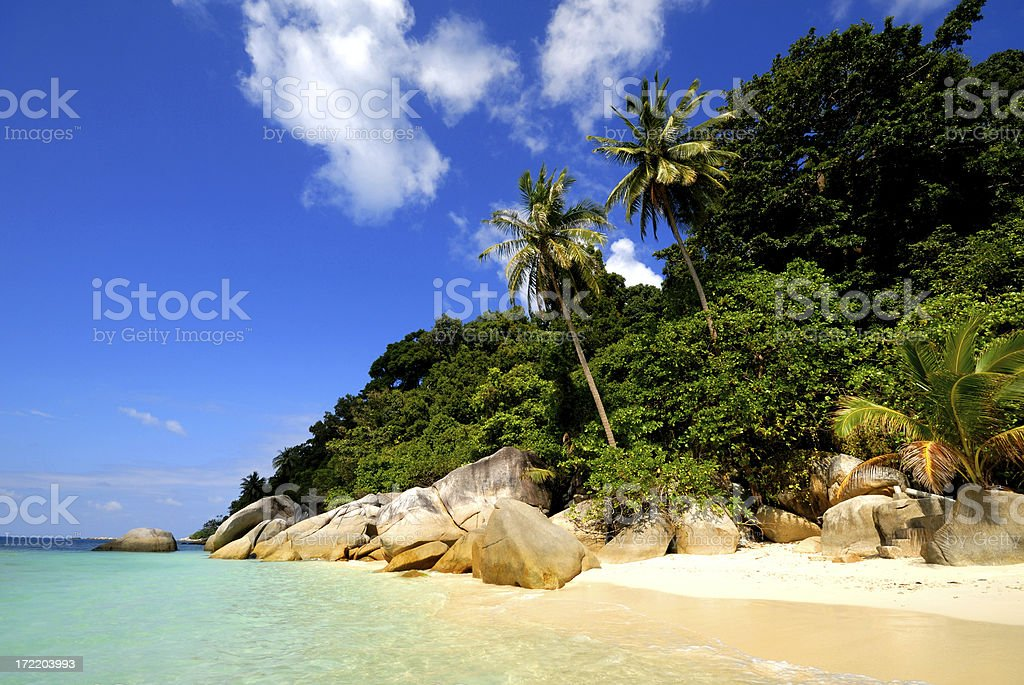 Tropical Island royalty-free stock photo