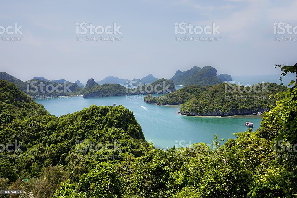 tropical islands royalty-free stock photo