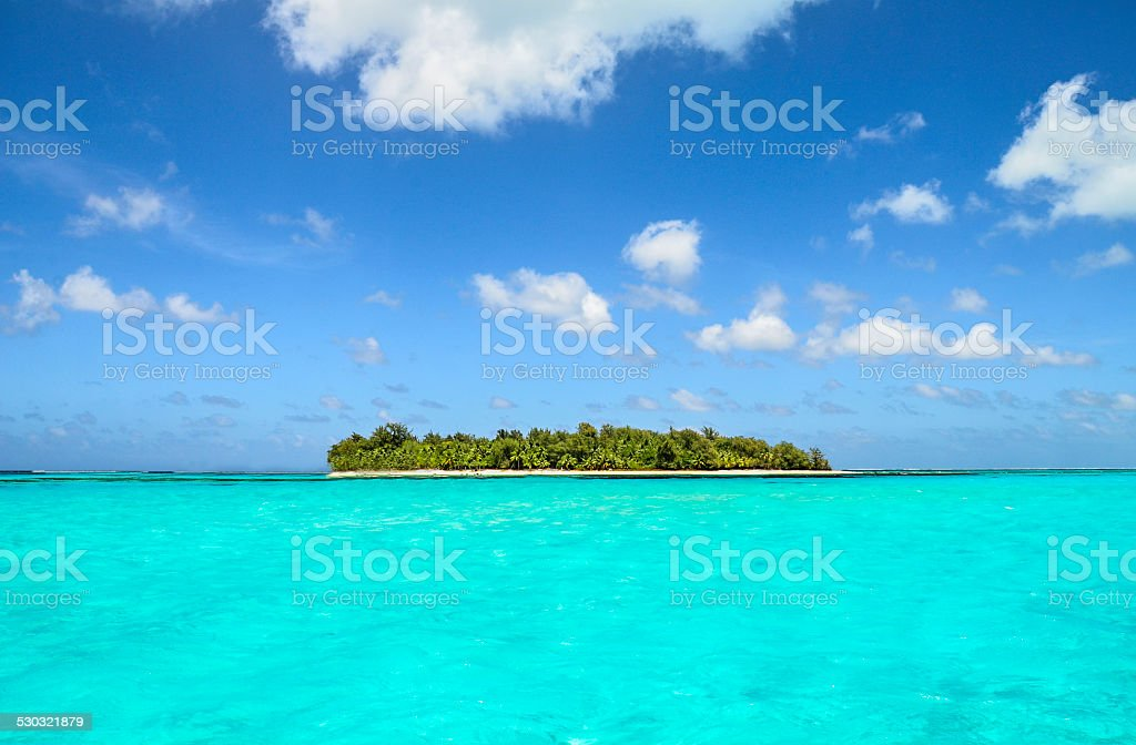 Tropical Isle Perfection stock photo