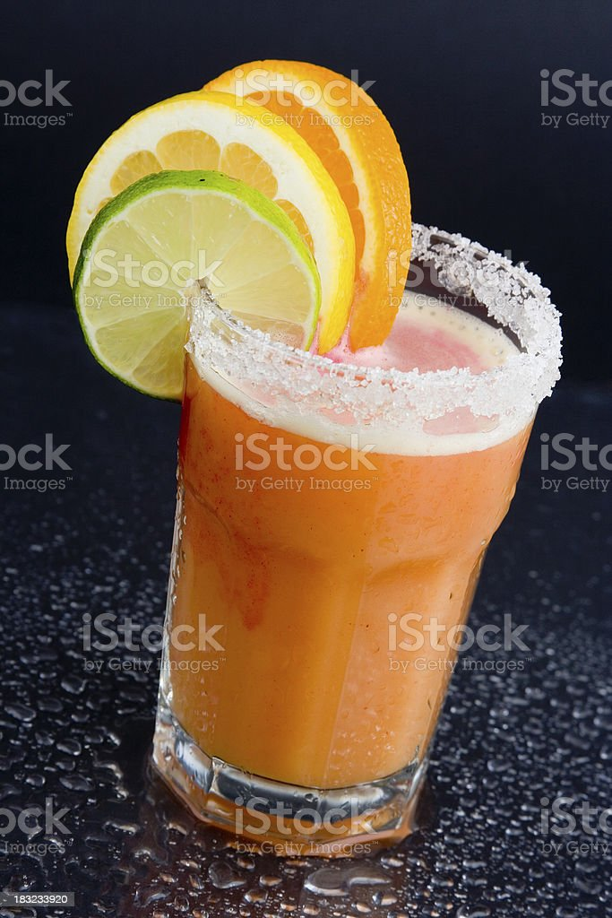 Tropical Juice Drink royalty-free stock photo
