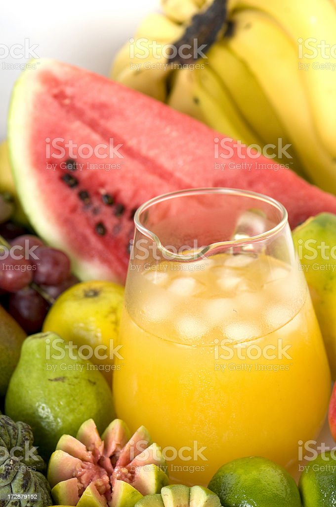 Tropical juice royalty-free stock photo
