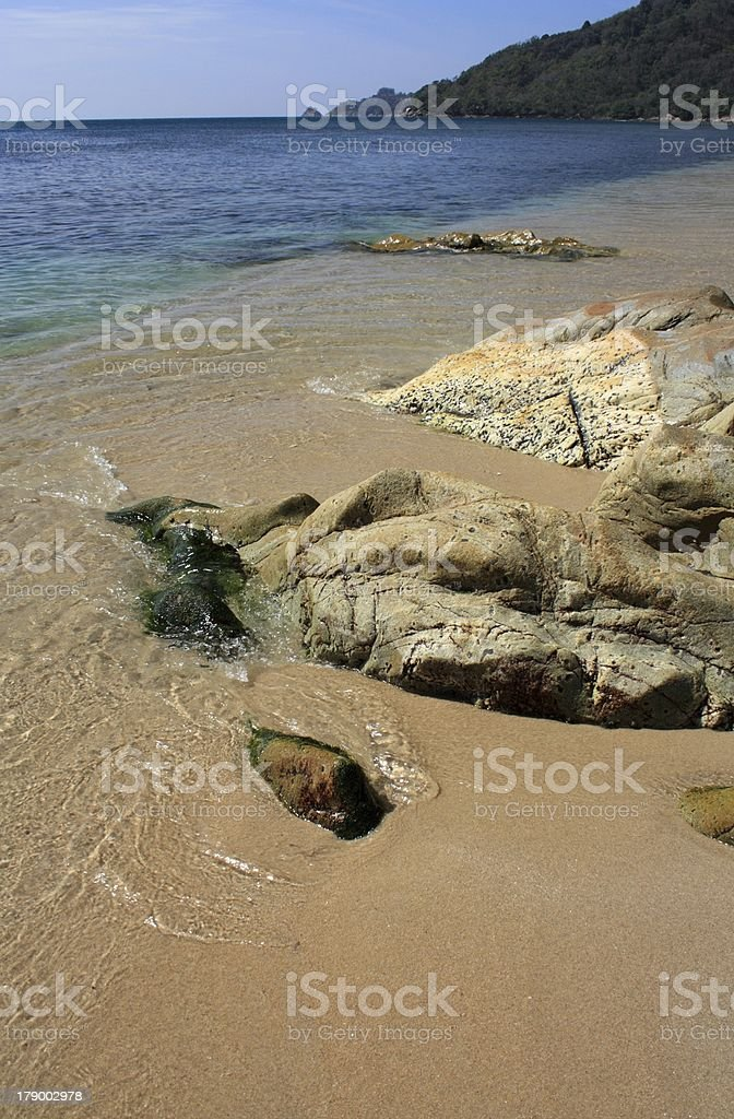 Tropical Landscape royalty-free stock photo