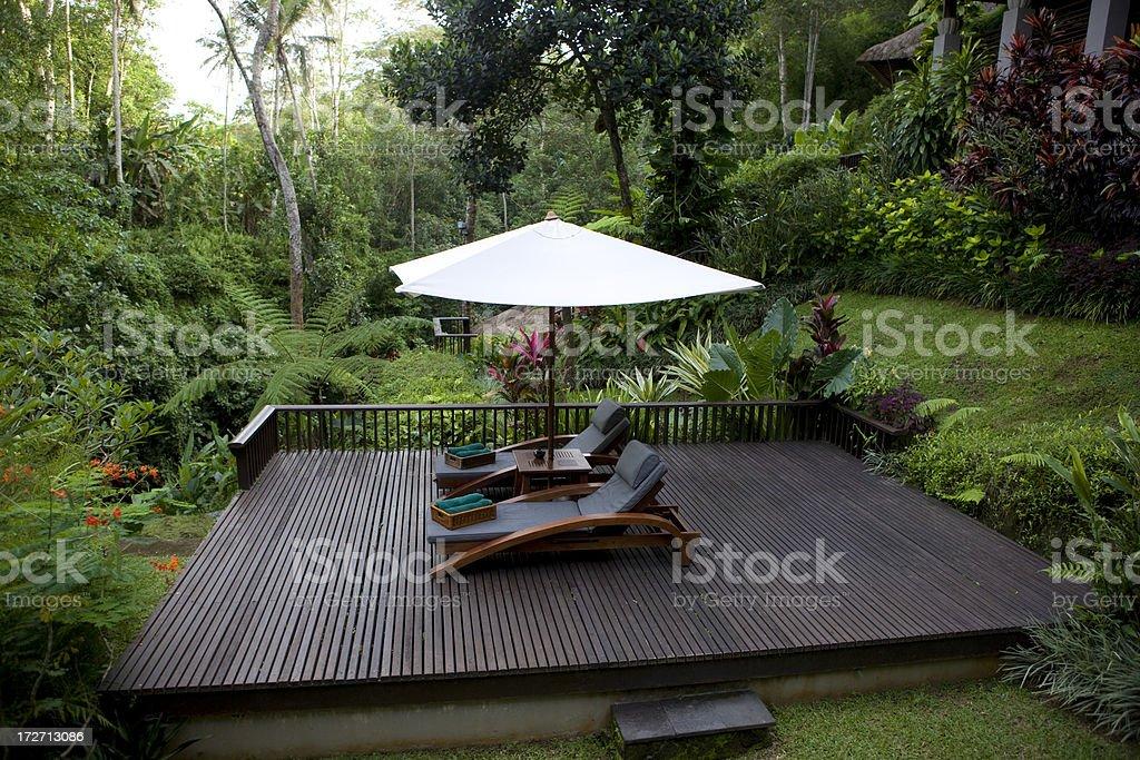 Tropical landscape XXL royalty-free stock photo
