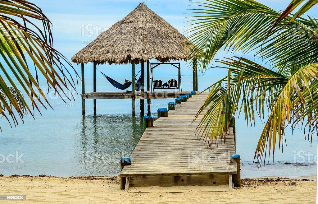 Tropical leisure stock photo
