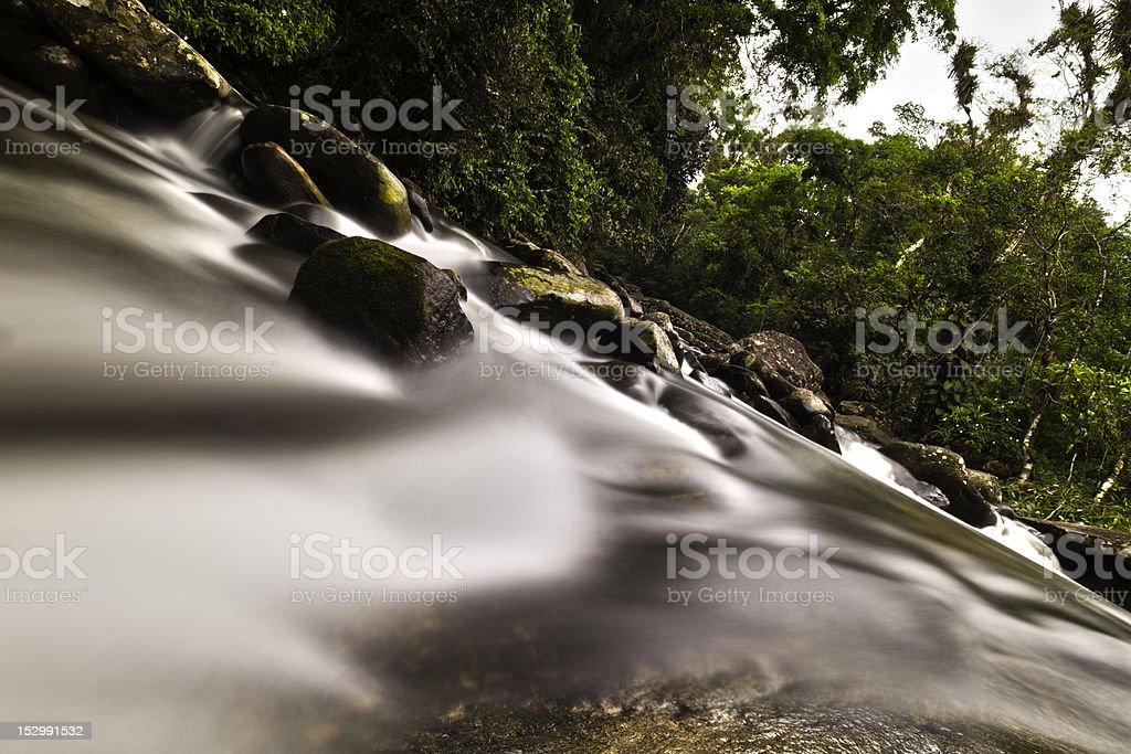 tropical mountain creek royalty-free stock photo