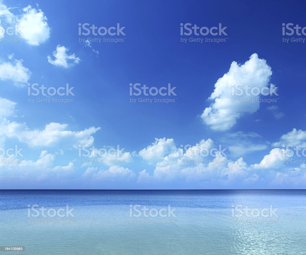 Tropical Ocean royalty-free stock photo