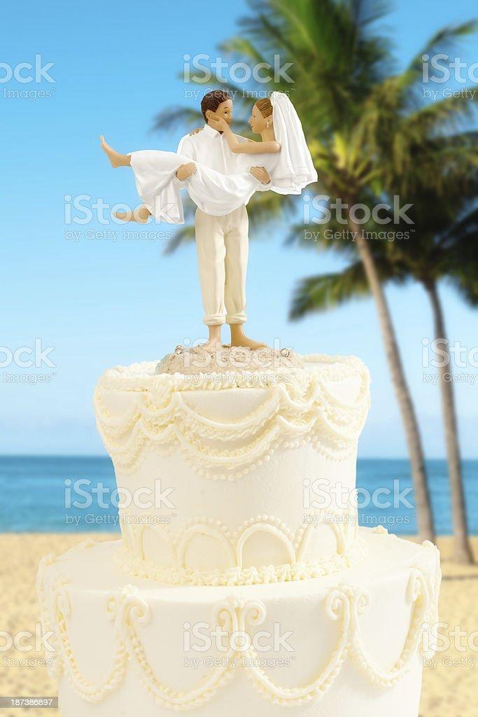Tropical Paradise Beach Destination Wedding royalty-free stock photo