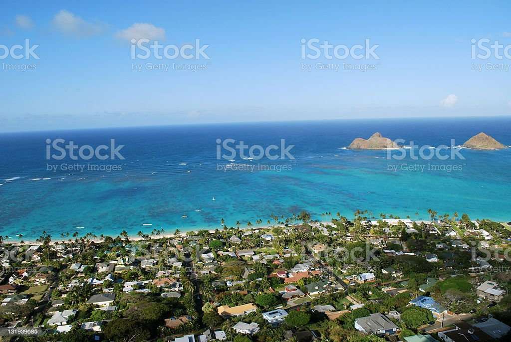 Tropical Paradise Islands stock photo