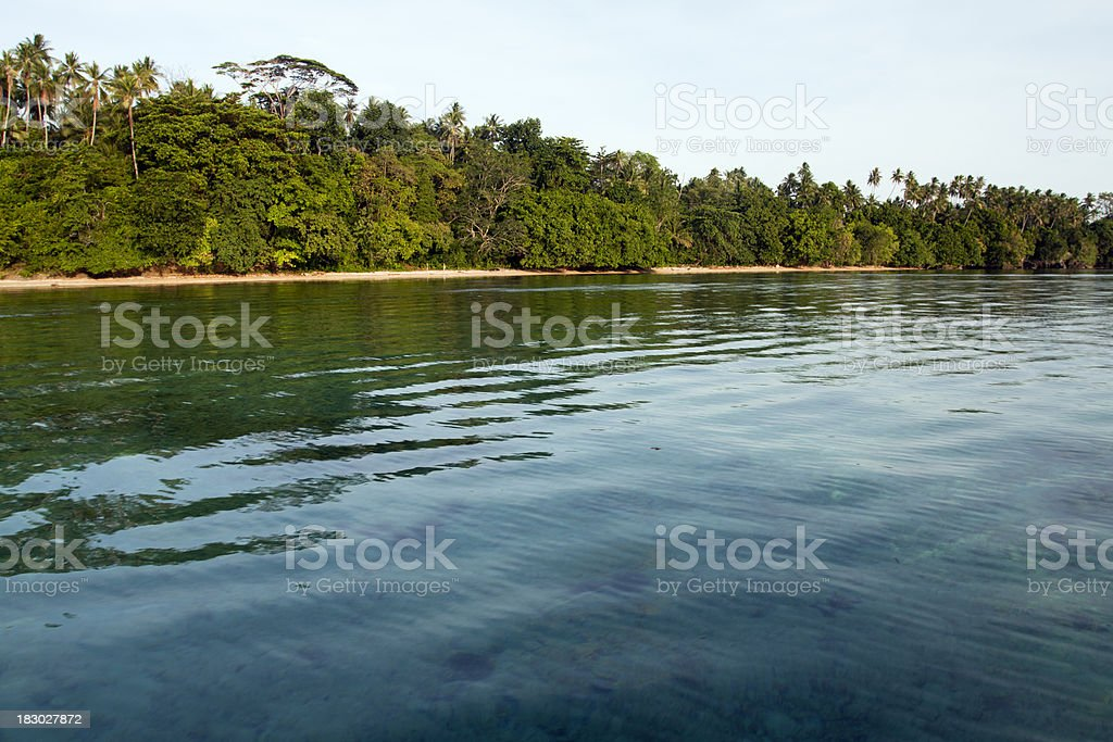 Tropical Paradise of Bunaken Island royalty-free stock photo