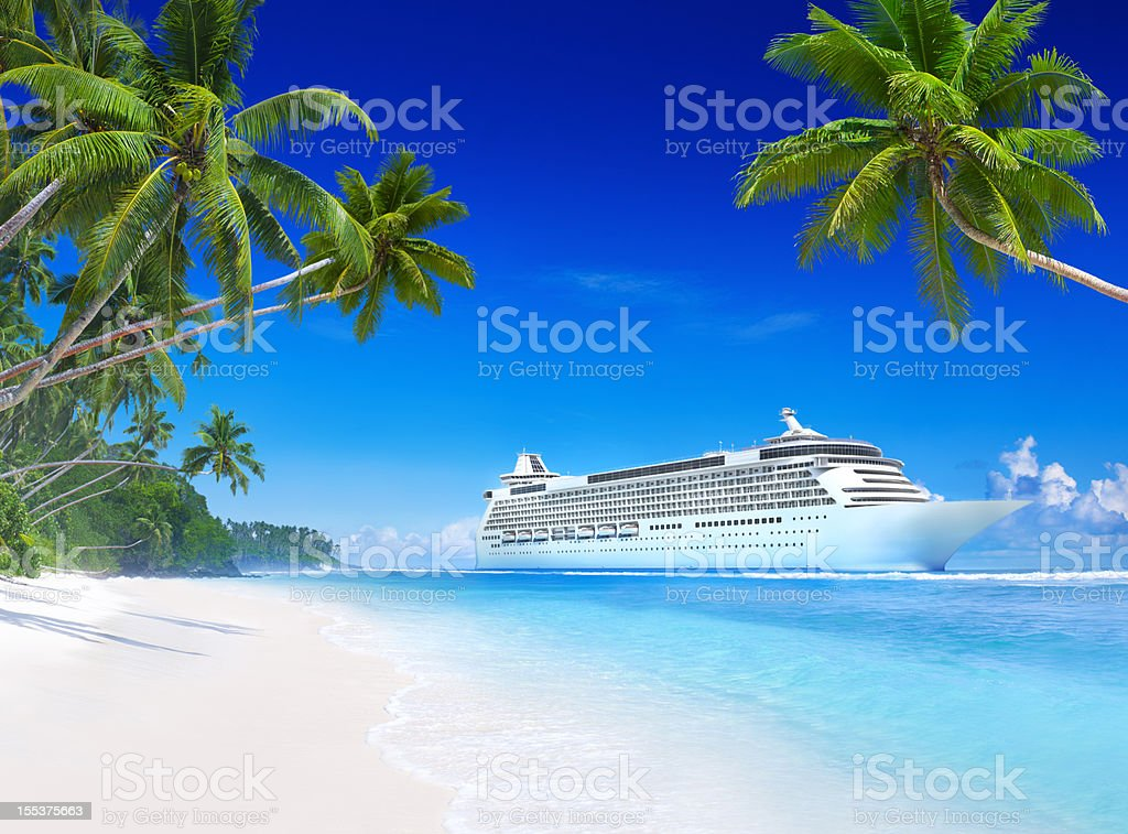 Tropical Paradise royalty-free stock photo