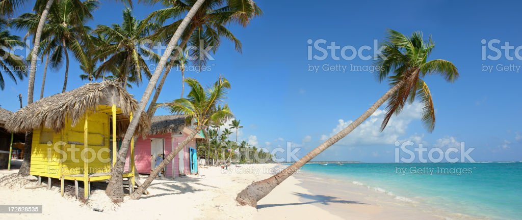 Tropical Paradise stock photo