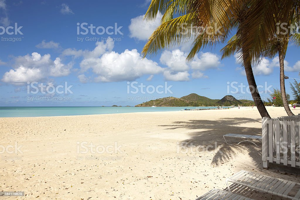Tropical Paradise... stock photo