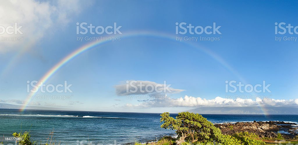Tropical Rainbow stock photo