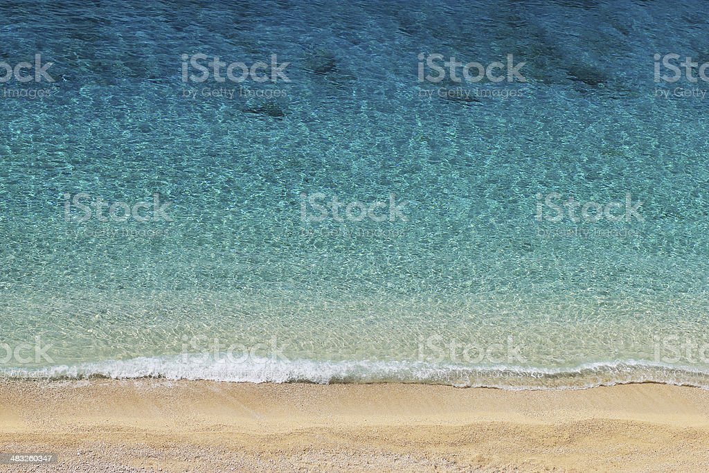Tropical Sea and Beach royalty-free stock photo