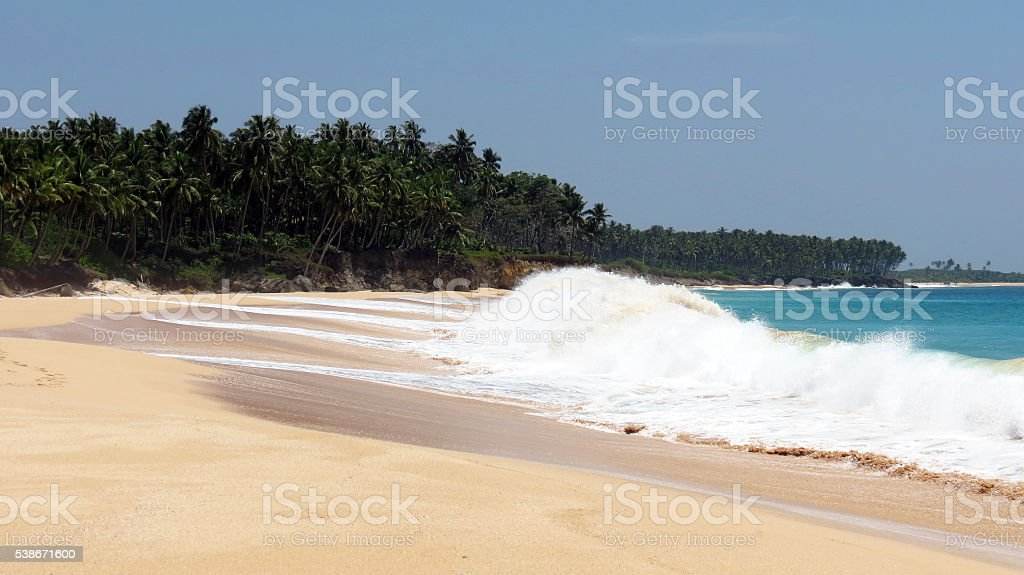 Tropical Sea Beach stock photo