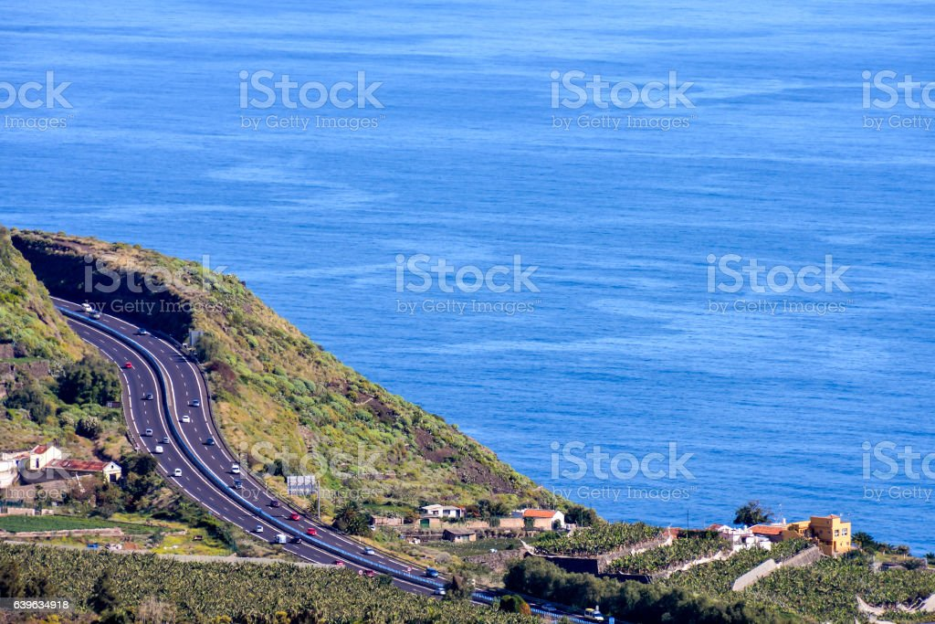 Tropical Sea Village stock photo