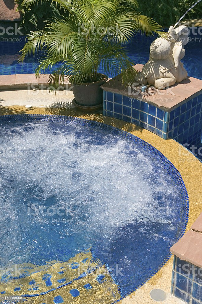 Tropical Spa royalty-free stock photo
