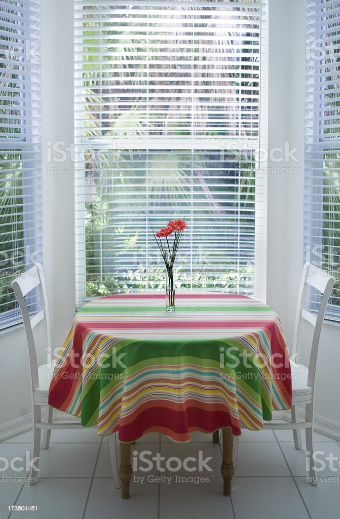 tropical table royalty-free stock photo
