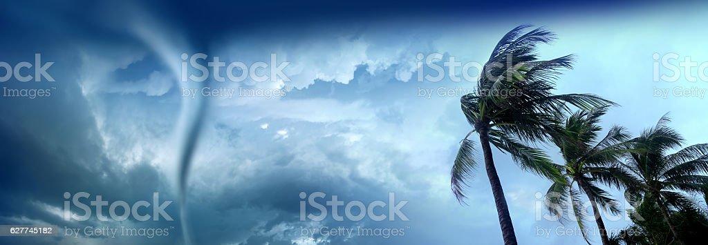 tropical tornado stock photo