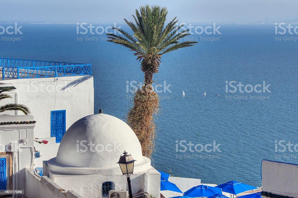 Tropical Tunisia stock photo