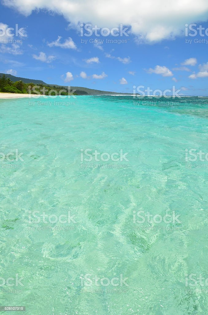 Tropical Turquoise Water stock photo