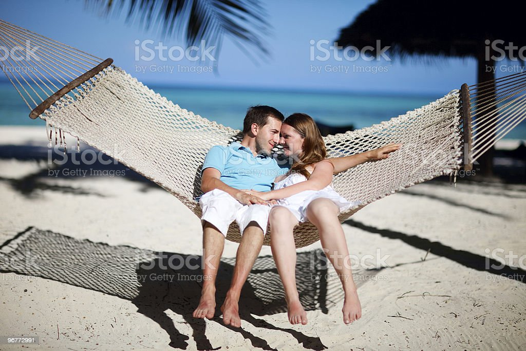 Tropical vacation royalty-free stock photo