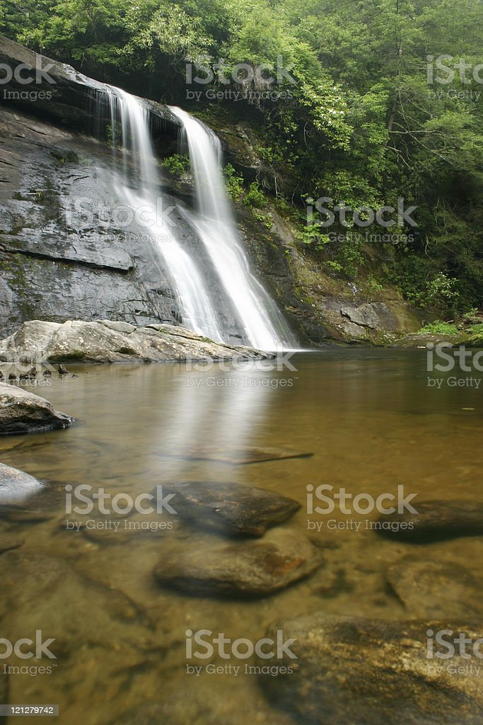 Tropical Waterfall stock photo
