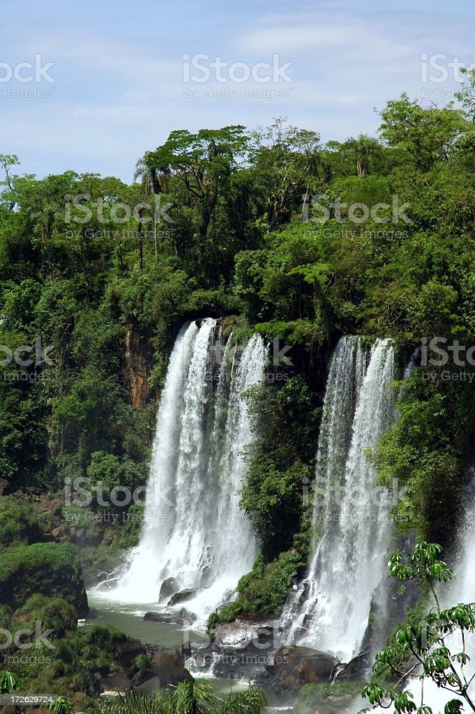 Tropical Waterfall royalty-free stock photo