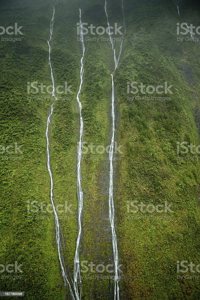 Tropical waterfall royalty-free stock photo