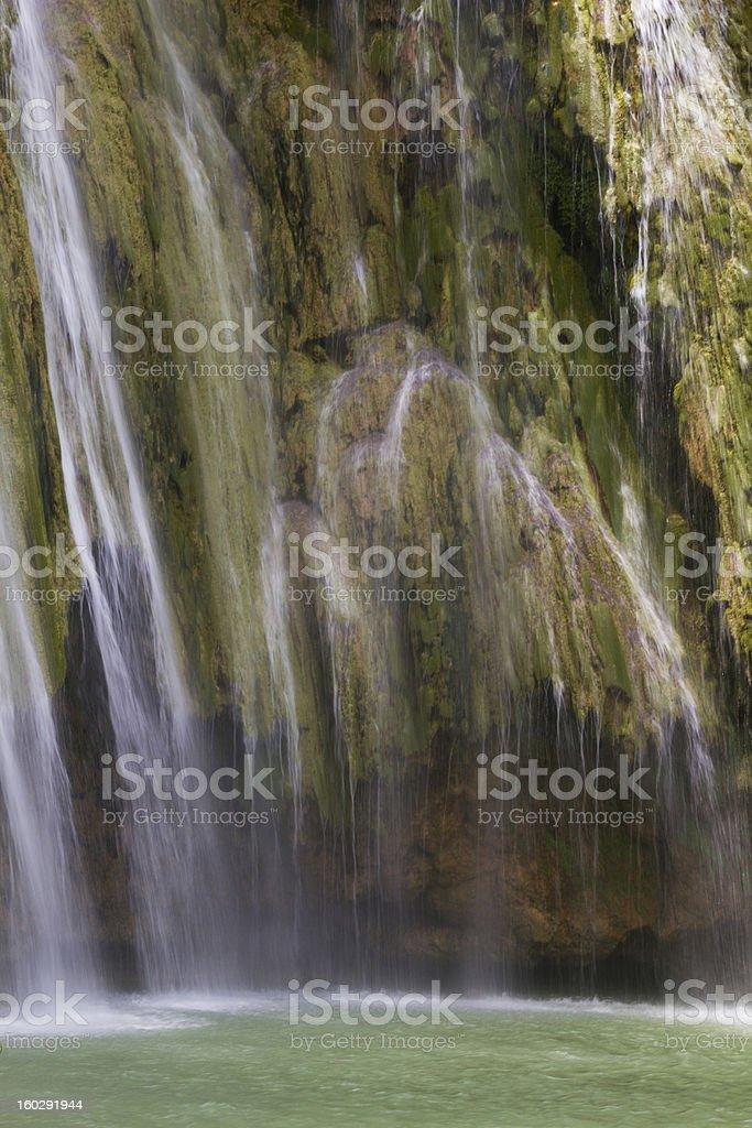 Tropical Waterfalls royalty-free stock photo