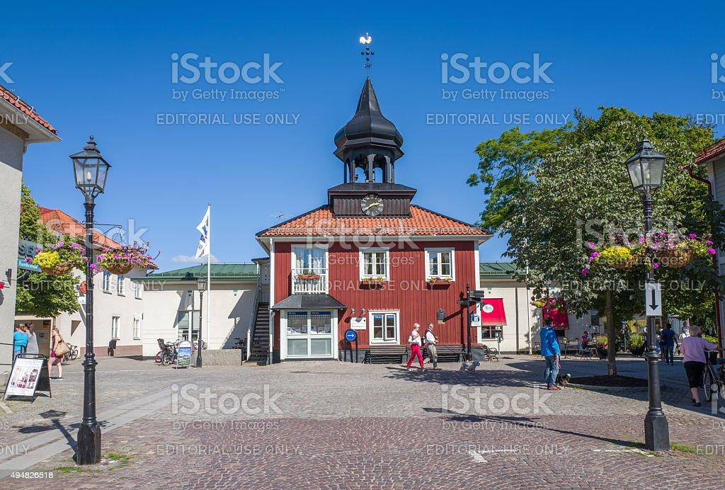 Trosa, Sweden stock photo