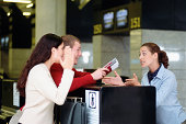 Trouble at the check-in desk