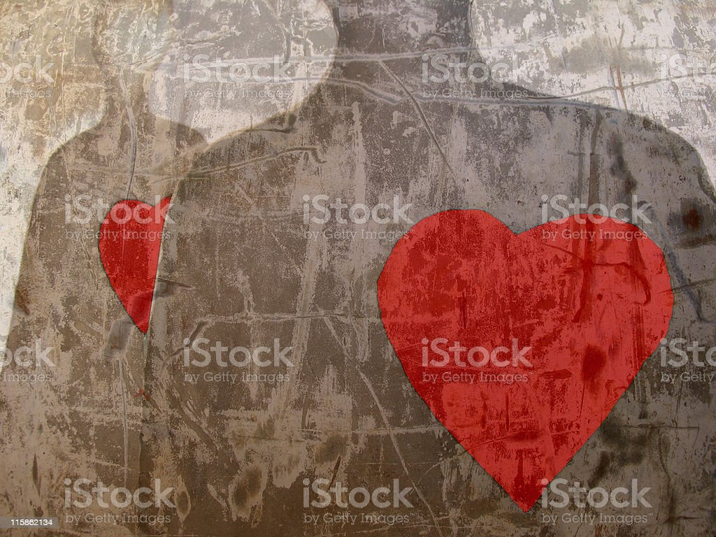 Trouble of love  #2 royalty-free stock photo