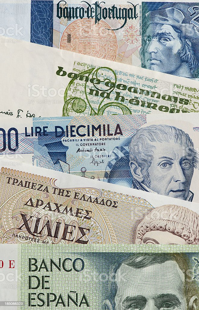 Troubled Economies royalty-free stock photo
