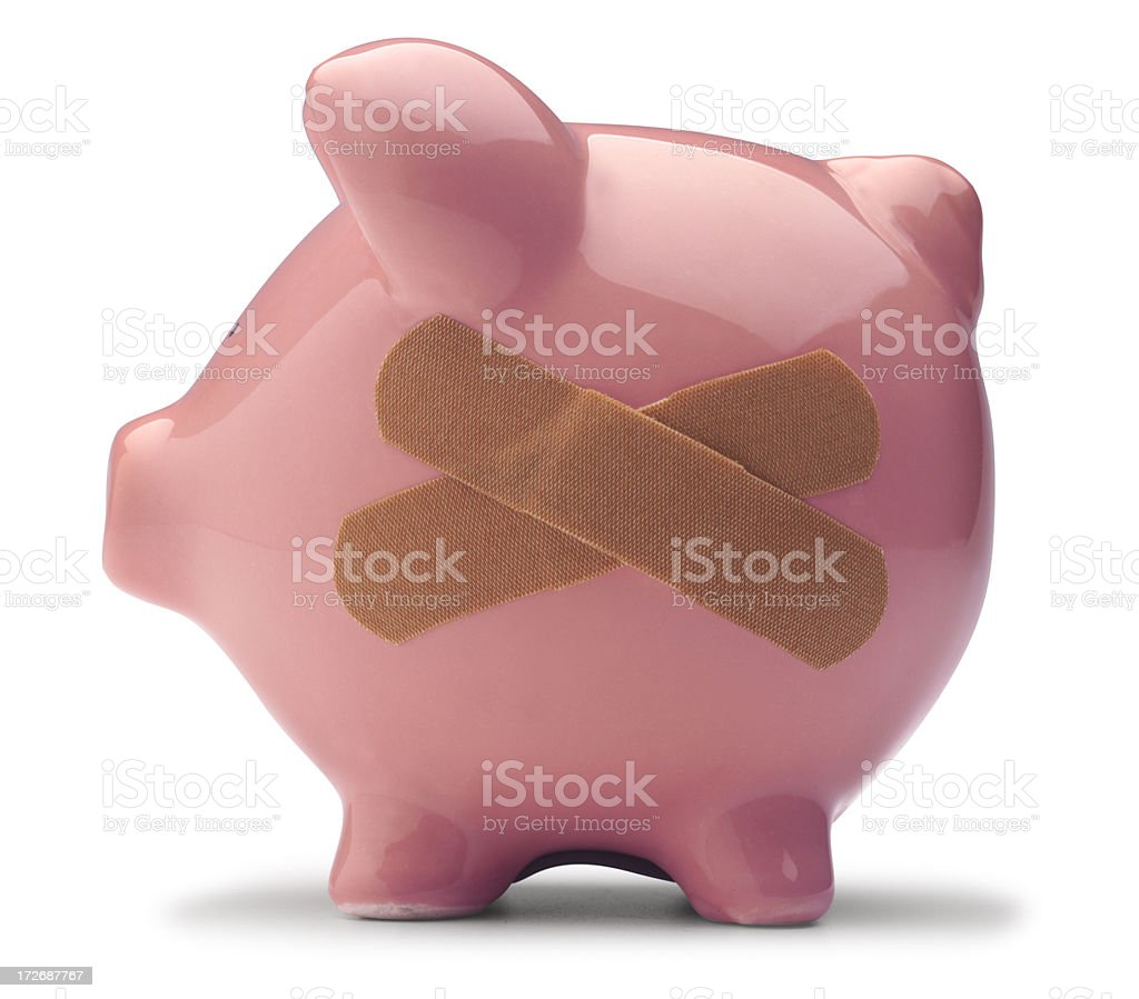 Troubled Finances royalty-free stock photo