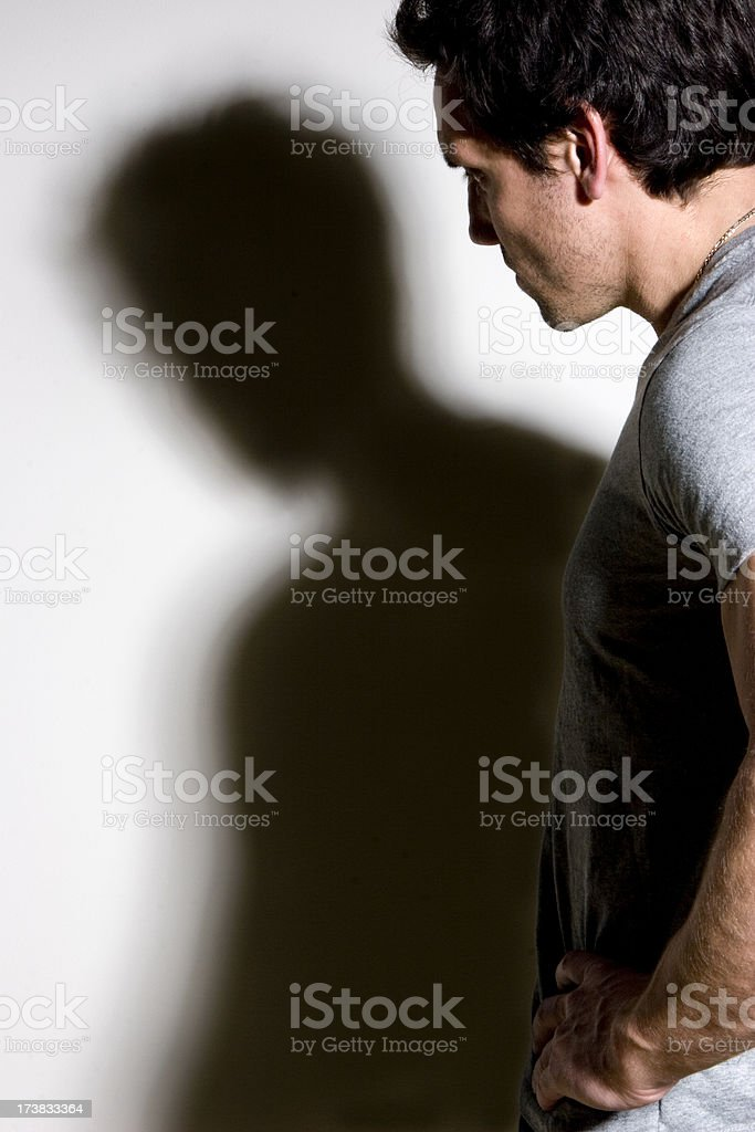 Troubled Past royalty-free stock photo